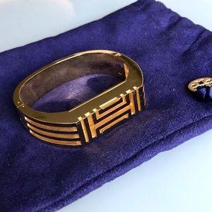 Tory Burch Fitbit Flex Gold Hinged Bracelet